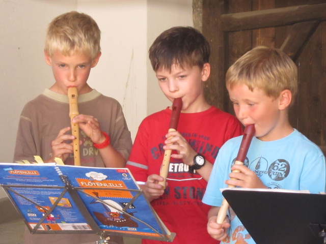 Flötenkinder Abschlusskonzert